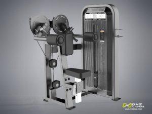 DHZ Fitness Fusion E5000 E5005 Дельтовидные разводка фото
