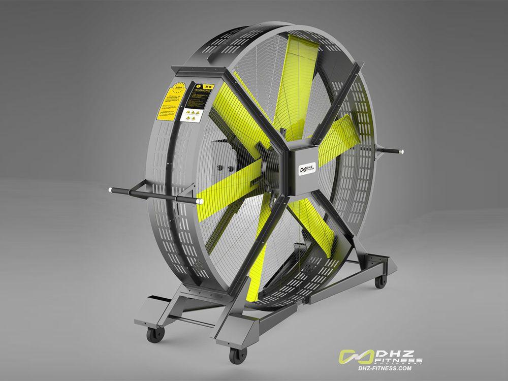 DHZ Вентилятор мобильный для тренажерного и кроссфит зала