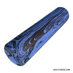 A25581 Ролик для йоги и пилатеса 60x15 см (синий гранит)