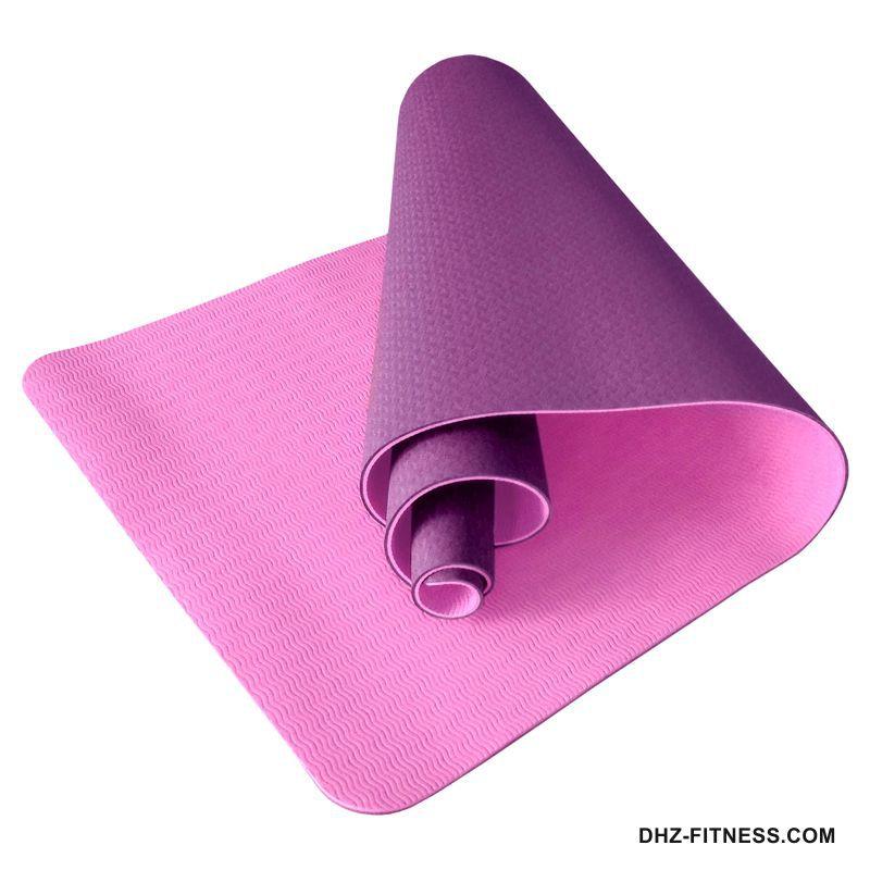 B31180-6 Коврик для йоги ТПЕ 183х61х0,6 см
