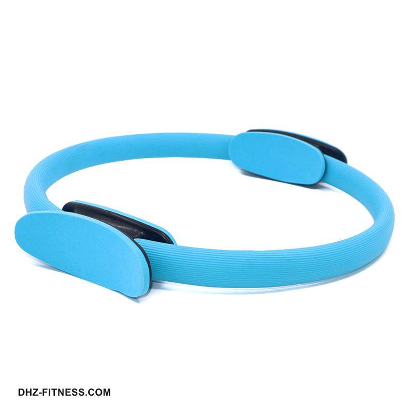 B31277-2 Кольцо эспандер для пилатеса 38 см (голубое)