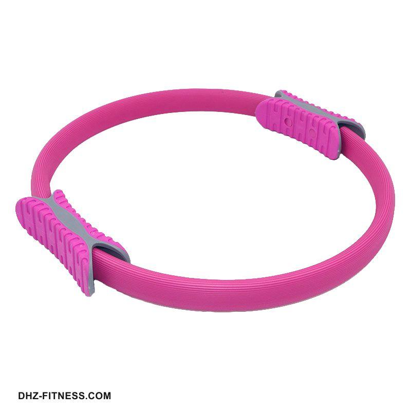 B31278-1 Кольцо эспандер для пилатеса 38 см (розовое)