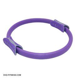 B31278-4 Кольцо эспандер для пилатеса 38 см (фиолетовое)