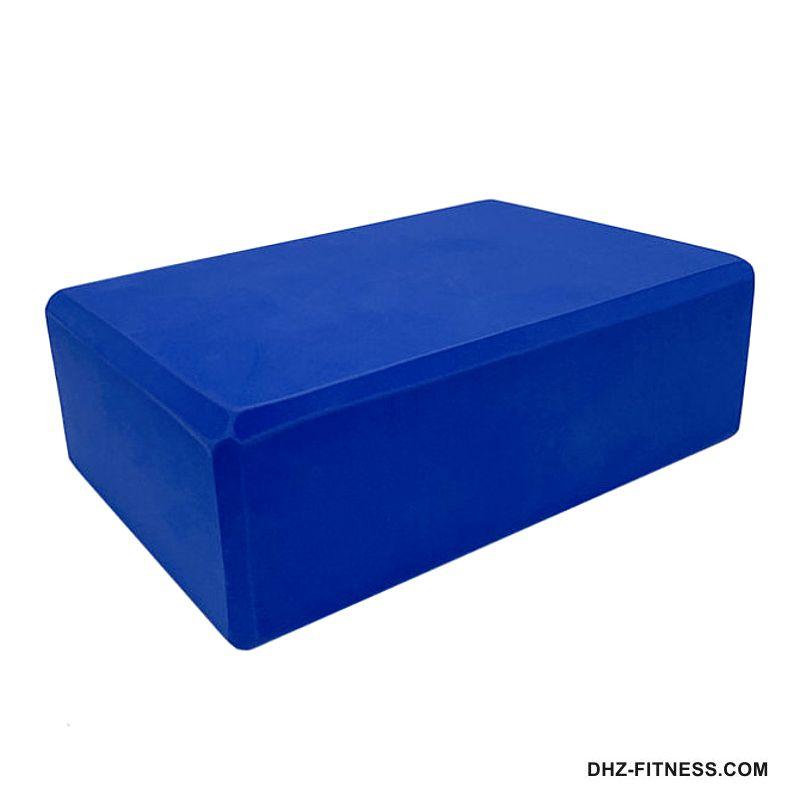 BE100-1 Йога блок полумягкий (темно синий)