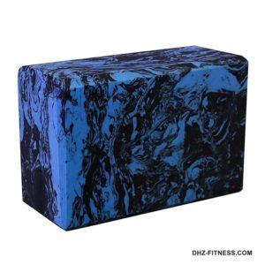 BE200-10 Йога блок полумягкий (синий гранит) фото