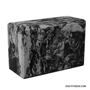 BE200-12 Йога блок полумягкий (серый гранит) фото