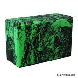 BE200-13 Йога блок полумягкий (зеленый гранит)