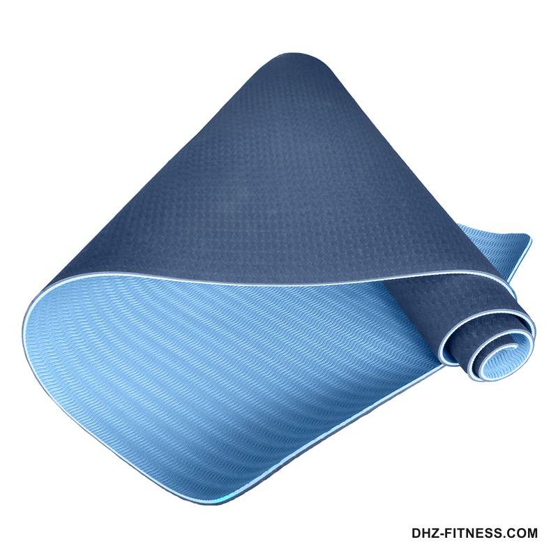 C33515 Коврик для йоги ТПЕ 183х61х0,6 см.