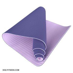 C33516 Коврик для йоги ТПЕ 183х61х0,6 см. фото