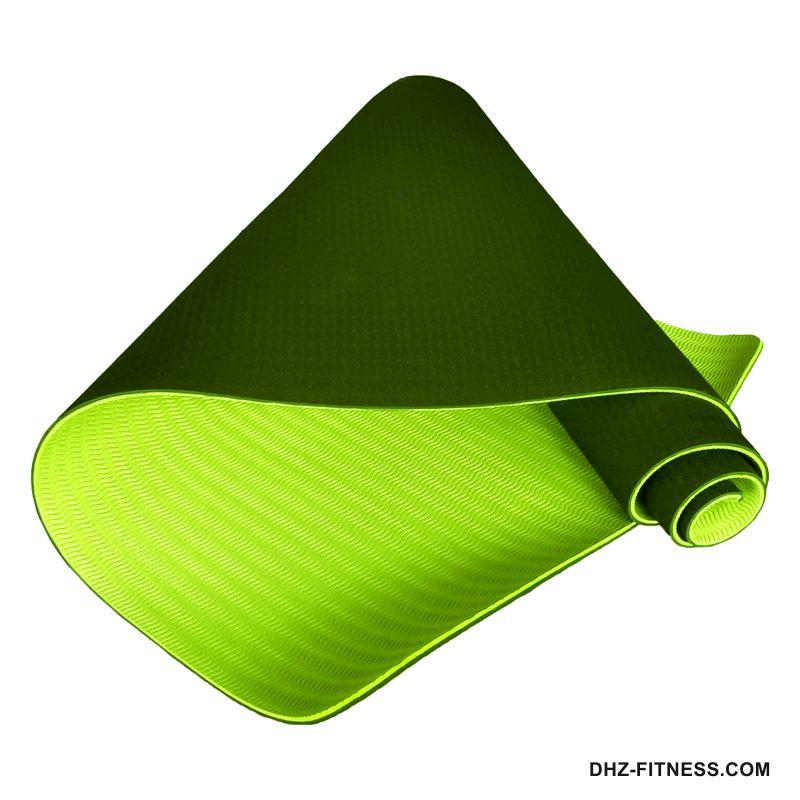C33518 Коврик для йоги ТПЕ 183х61х0,6 см.