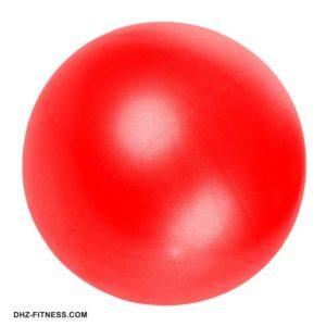 E29315-3 Мяч для пилатеса (ПВХ) 25 см (красный) фото