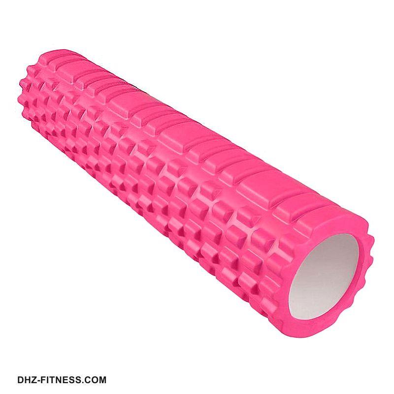E29383-2 Ролик массажный (розовый) 60х14 см
