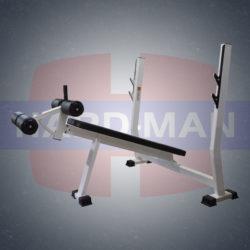 HM-007 Скамья для жима штанги под отрицательным углом