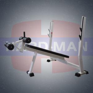 HM-007 Скамья для жима штанги под отрицательным углом фото