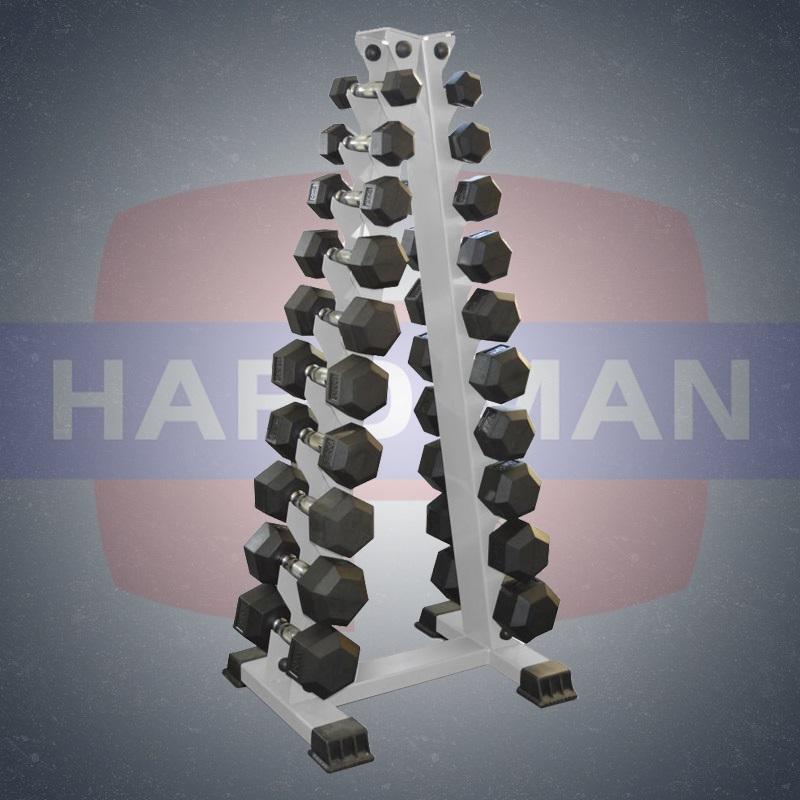 HM-103 Стойка вертикальная для гантелей на 10 пар