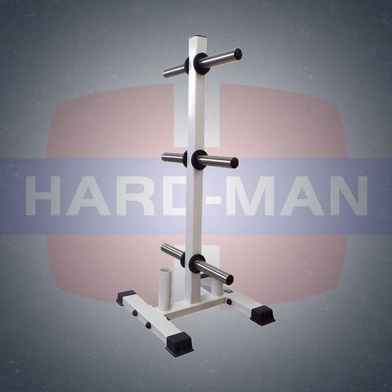 HM-104 Стойка для олимпийских грифов и дисков