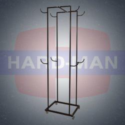 HM-113 Стойка для полусфер BOSU на 8 шт