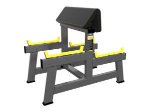 DHZ Fitness Evost Strong R-2044 Скамья для бицепса. Скамья Скотта (Seated Preacher Curl) фото