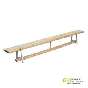 Скамья гимнастическая 2,8 м на металлических ножках фото