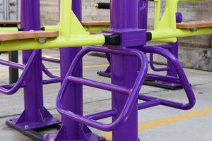 RTFL-1623 Тренажер уличный Жим ногами (двусторонний) фото